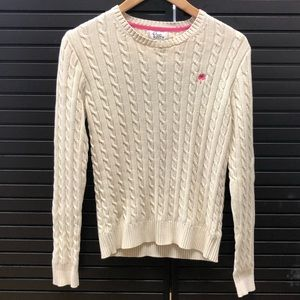 Lily Pulitzer Cable-knit Sweater